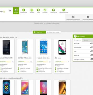 مقارن أسعار للأجهزة الذكية في الجزائر